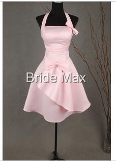 短款晚装敬酒服红色新娘小礼服图片