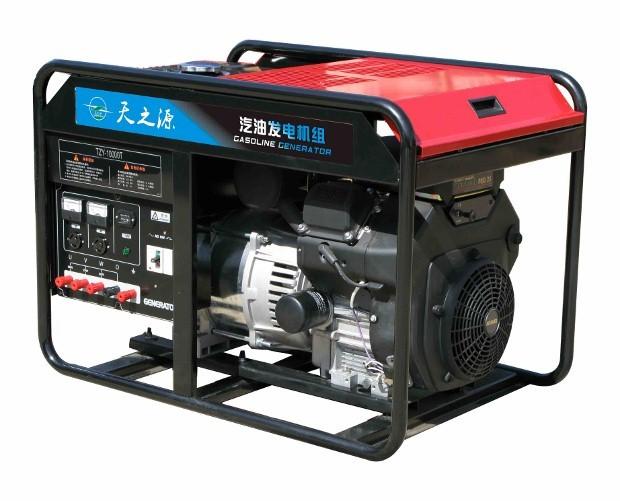 汽油双缸发电机组10kw超市备用发电机